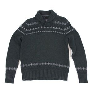 Men's Collared Heavy Sweater {American Eagle}